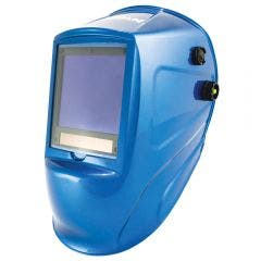 MICHIGAN Pro XL View Variable Auto Darkening Welding Helmet - Blue MIC1000VDIG