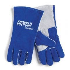 CIGWELD Heavy Duty Welding Gloves - Medium 646766