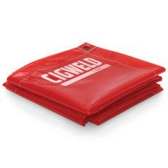 CIGWELD 1.8 x 1.8m Welding Curtain - Red 646777