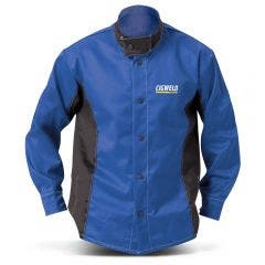 CIGWELD Welding Jacket Blue/Black 646771