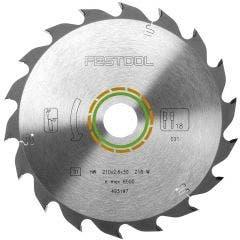 FESTOOL 210mm 18T TCT Circular Blade for Wood Cutting