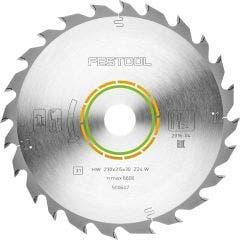 FESTOOL 230mm 24T TCT Circular Blade for Wood Cutting