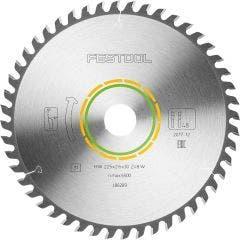 FESTOOL 225mm 48T TCT Circular Saw Blade for Veneered Panel Cutting
