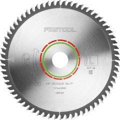 FESTOOL 225mm 64T TCT Circular Saw Blade for Laminate Flooring Cutting