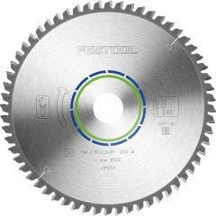 FESTOOL 216mm 60T TCT Circular Blade for Non-Ferrous Metal Cutting