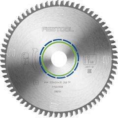 FESTOOL 225mm 68T TCT Circular Blade for Non-Ferrous Metal Cutting