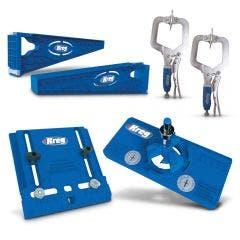 KREG 3 Piece Jigs Hardware Installation Kit KR-KHI-PROMO19
