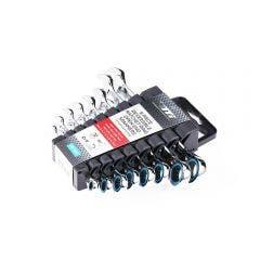 TTI 8 Piece Flex Head Ratchet R/OE 72 Tooth Metric Spanner Set TRVSM8