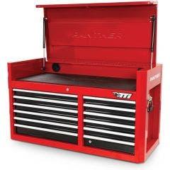 TTI 41inch 12 Drawer Tool Chest - Red/Black TCH4112