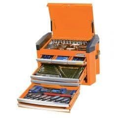 KINCROME Contour Tool Chest Kit 207 Piece - Orange K1509O