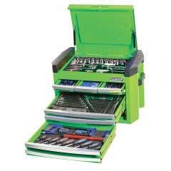 KINCROME Contour Tool Chest Kit 207 Piece - Green K1509G