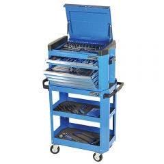 KINCROME Contour Tool Cart Kit 208 Piece - Blue K1508