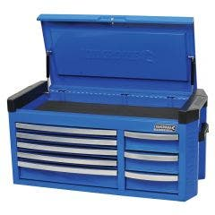 KINCROME Contour 42inch Tool Chest 8 Drawer Extra Wide - Blue K7758
