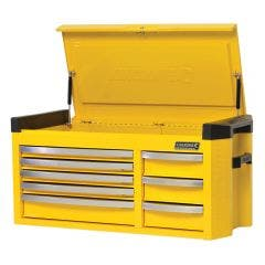 KINCROME Contour 42inch Tool Chest 8 Drawer Extra Wide - Yellow K7758Y