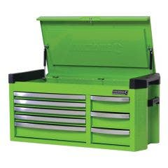 KINCROME Contour 42inch Tool Chest 8 Drawer Extra Wide - Green K7758G