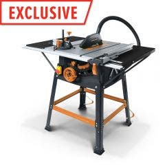 EVOLUTION 1500W 255mm Table Saw w. Stand R255MTS