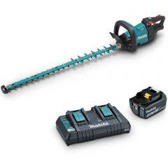 MAKITA 18V Brushless 750mm 1 x 5.0Ah Hedge Trimmer Kit DUH752PT