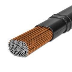 UNIMIG 2.4mm ER70S-4 Double De-Oxidised TIG Welding Rods 5kg TG4ER70S-4-2.4