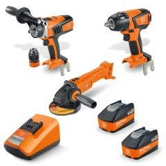 FEIN 18V Brushless 2 x 5.2Ah 3 Piece Combo Kit 69908010729
