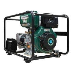 GENTECH 7KVA Diesel Generator w. Recoil and E-Start