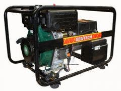 GENTECH 7.7kVA Lister Powered Diesel Generator with Recoil & E-Start ED7700LSRE