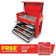 TTI 178 Piece 26inch 8 Drawer Tool Chest Kit TTK26081