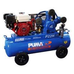 PUMA 6.5HP 440L/min Electric Start Honda Petrol Compressor PUP22HES