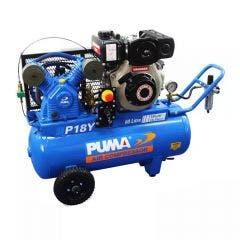 PUMA 4.7HP 350L/min Yanmar Diesel Electric Start Compressor PUP18YES