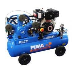 PUMA 4.7HP 440L/min Yanmar Diesel Electric Start Compressor PUP22YES