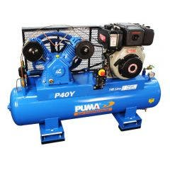 PUMA 10.0HP 805L/min Yanmar Diesel Electric Start Compressor PUP40YES