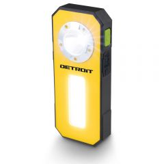 DETROIT 3W LED Rechargeable Worklight w. USB Powerbank DET003