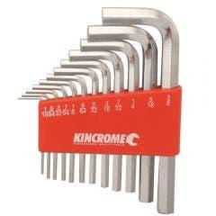 KINCROME Hex Key Set - Imperial 12 Piece K5110
