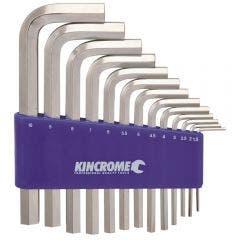 KINCROME Hex Key Set - Metric 13 Piece K5111