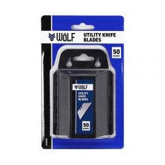 WoLF 50 Pack Utility Knife Blades WUK050