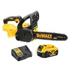 DEWALT 18V Brushless 300mm 1 x 4.0Ah Chainsaw Kit DCM565M1-XE
