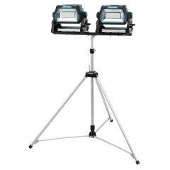 MAKITA 2x 18V High Brightness LED Work Light w. Tripod Skin DML809X2