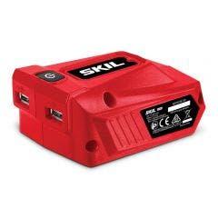 SKIL 20V USB Charging Adaptor Skin w. 2 USB Ports AD5923E00
