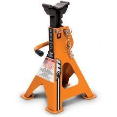 TTI 2000kg Ratchet Style Axle Stands Pair - Orange TTIAS2000RSX2OB