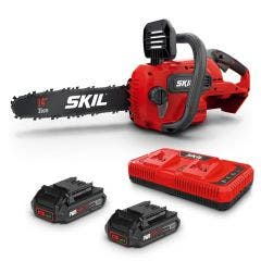SKIL PWRCORE 40V (2x20V Max) Brushless 2 x 2.5Ah Chainsaw Kit CS4556E20