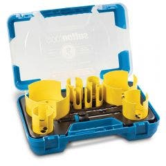 SUTTON 19-111mm TCT Multi-Purpose Holesaw Set for Plumbers - 9 Piece