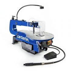 CARBATEC 400mm Scroll Saw with Rotary Carving Attachment SS-400H