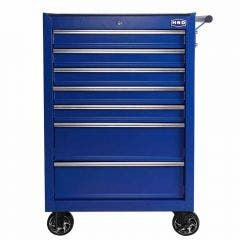 HRD 26in 7 Drawer Tool Trolley - Blue HTR26071