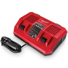 MILWAUKEE 18V Dual Bay Simultaneous Rapid Charger M18DFC