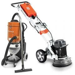 HUSQVARNA 230v Floor Grinder PG280 w. S26 Extractor Kit TTKIT775