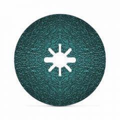 PFERD X-LOCK 125mm 36-Grit Shaped Grain Ceramic Fibre Disc - ACTIROX