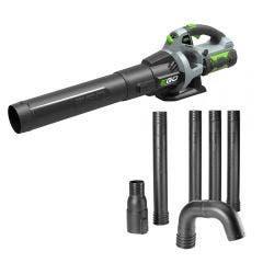 EGO 56V Brushless 1 x 2.5Ah Blower Kit w. Bonus Gutter Attachment LB5302EA