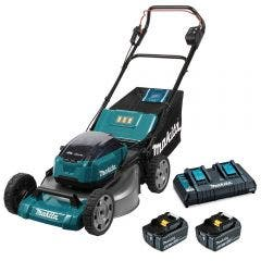 MAKITA 534mm 36V (18Vx2) Brushless Lawn Mower Kit DLM531PG2