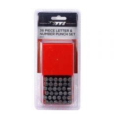 TTI 36 Piece Letter & Number Punch Set TNP000