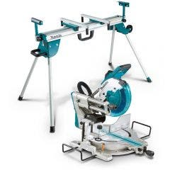 MAKITA 260mm Slide Compound Saw w. Mitre Saw Stand LS1019WST06