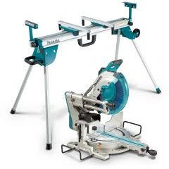 MAKITA 305mm Slide Compound Saw w. Mitre Saw Stand LS1219WST06